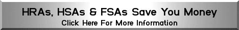HRAs HSAs and FSAs can save you money. Click here to find out how!