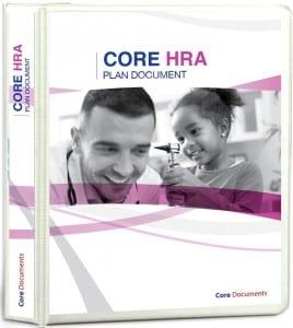 Save on group health premium with a Core HRA Health Reimbursement Arrangement Plan Document Package