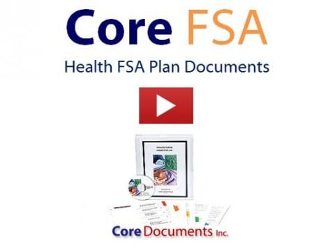 Core Health FSA Plan Document Video