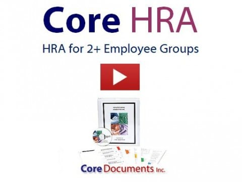 Core HRA for Groups 2+ Employees