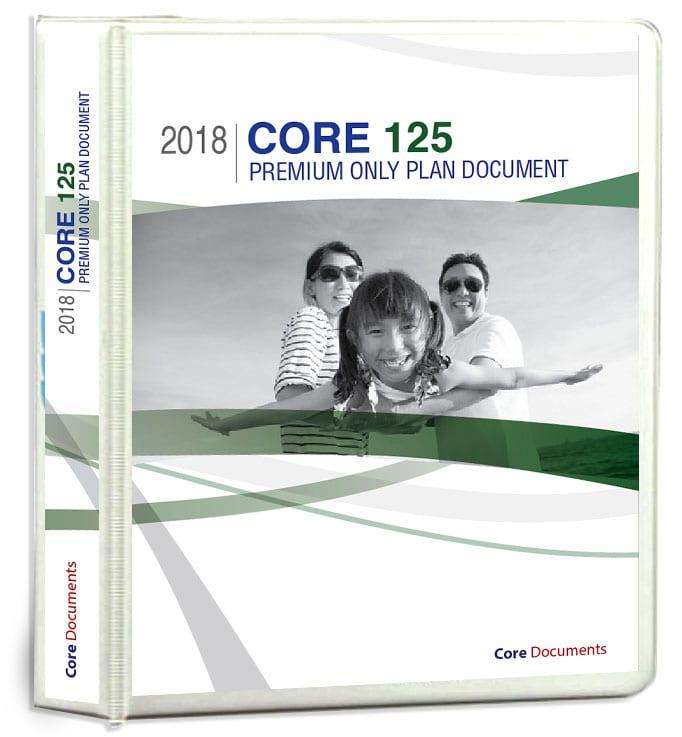 core 125 premium only plan document