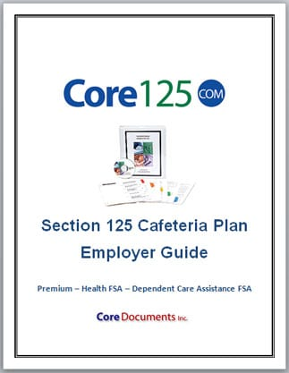 Section 125 Cafeteria Plan Options for 2018