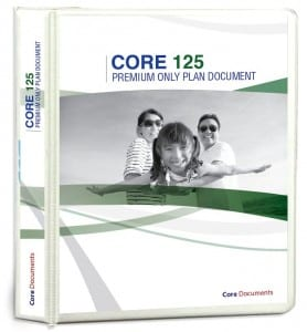 Section 125 Plan Document Package (Core 125) in deluxe binder version.