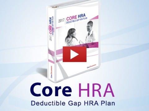 Core HRA Deductible Gap HRA plan