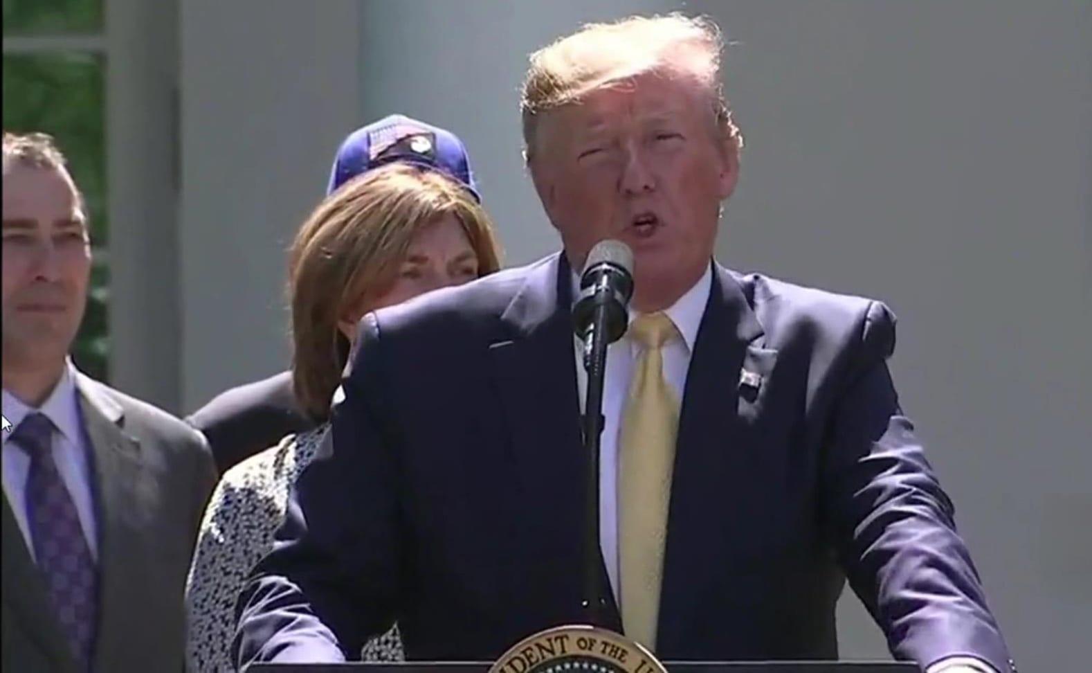 President Donald J. Trump announces Individual Coverage HRA.