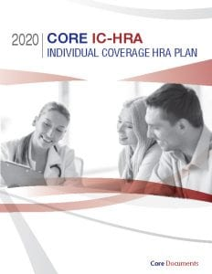 Core IC-HRA Individual Coverage HRA Plan